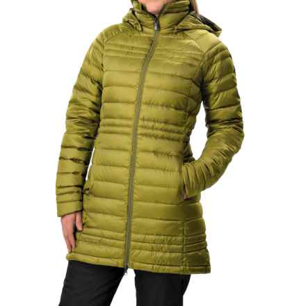 Burton [ak] Long Baker Down Jacket - 800 Fill Power (For Women) in Lychee - Closeouts